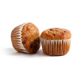 Kool for School Banana Chocolate Chip Muffins - 56g x 12 **GTA ONLY**