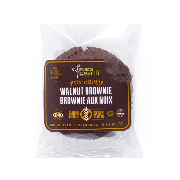 Gluten-Free Walnut Brownie - 70g x 6 pack