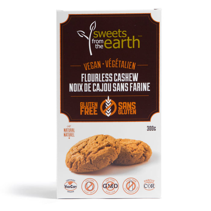Gluten-Free Flourless Cashew Cookie Box - 300g