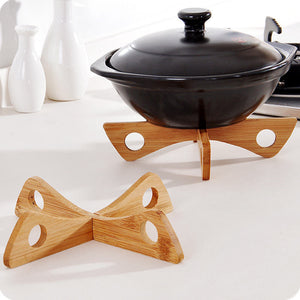 New 1 Set 20*4cm Bamboo Anti-hot Steaming Placemat