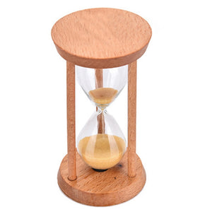 Crystal Hourglass Bamboo time