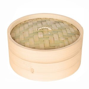 One Cage and One Cover Cooking Bamboo Steamer