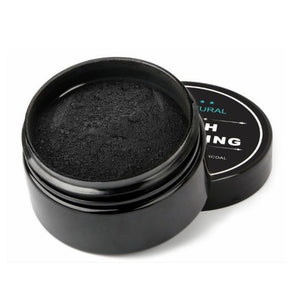 Teeth Whitening Kit Charcoal Powder Bamboo with Toothbrush