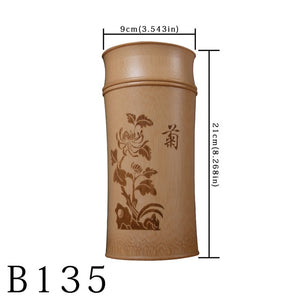 Large Capacity Natural Bamboo Storage Jars For Bulk Products Kitchen Accessories Container Bottle Spices Tea Box Caddy Sealed