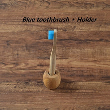 Load image into Gallery viewer, Childern Toothbrush With Holder