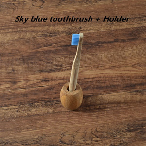 Childern Toothbrush With Holder