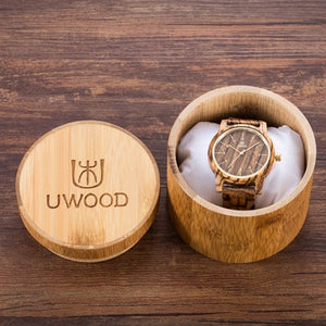 Top Luxury Brand New Fashion Wood Watch