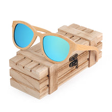 Load image into Gallery viewer, Polarized Eyewear As Best Gift With Wooden Gift Box