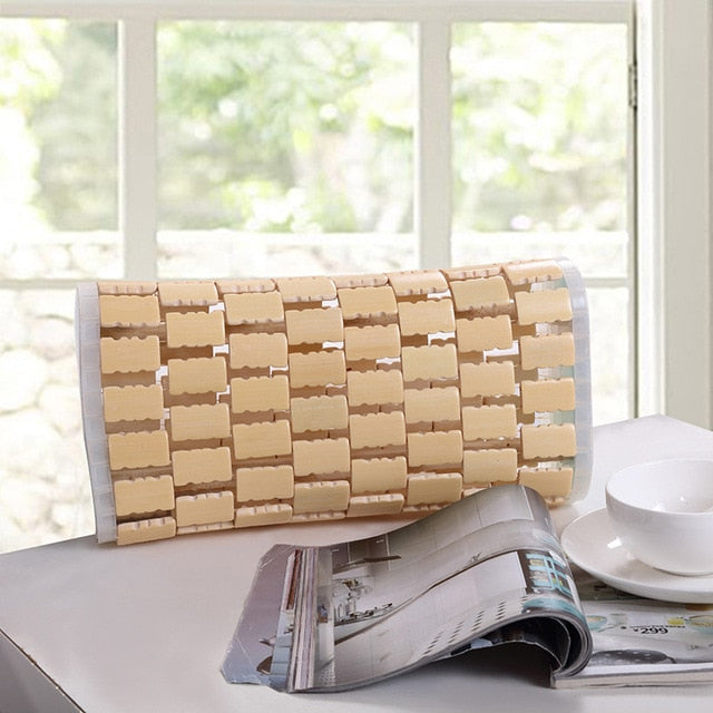 Cool and Refreshing bamboo pillow 32*16*8cm