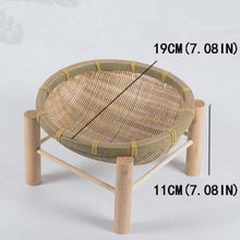 Load image into Gallery viewer, Handmade Woven Bamboo Fruit Basket
