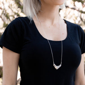Arash Necklace | Silver - Isobell Designs - Necklace - handmade-jewelry-california-minimal-delicate-jewellery.