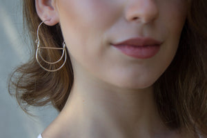 Zara Earrings - Isobell Designs