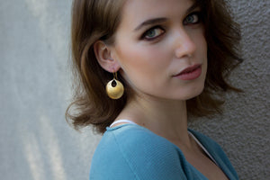 Sun Beam Earrings - Isobell Designs