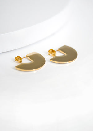 Esta Earrings ▬ Gold - Isobell Designs