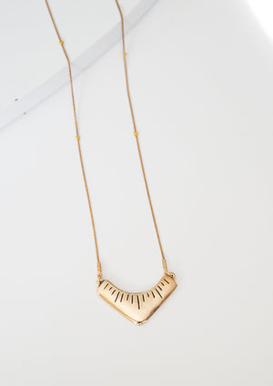 Arash Necklace | Bronze - Isobell Designs - Necklace - handmade-jewelry-california-minimal-delicate-jewellery.