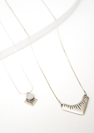 Arash Necklace - Isobell Designs -  - handmade-jewelry-california-minimal-delicate-jewellery