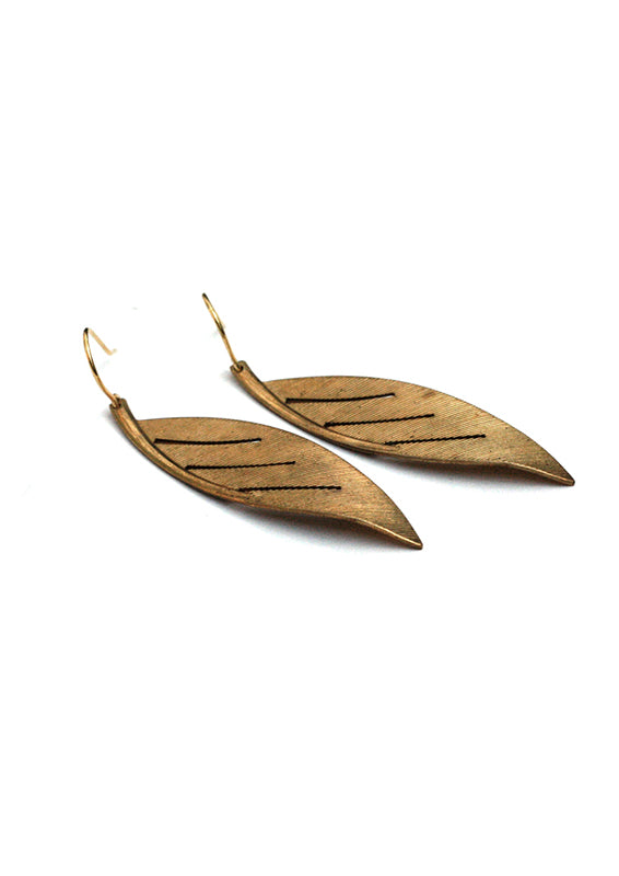 Canyon Oak Earrings - Isobell Designs