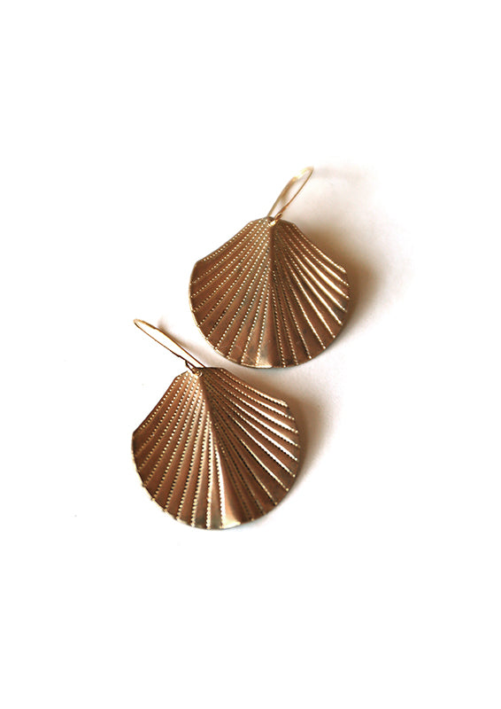 Swaying Frond Earrings - Isobell Designs
