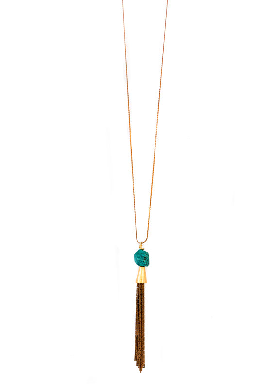 Tassel Necklace - Isobell Designs