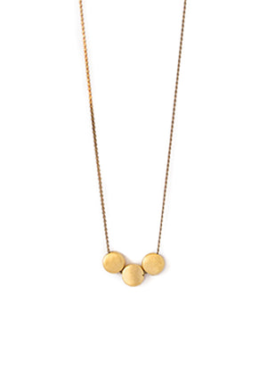 Three Dot Necklace - Isobell Designs