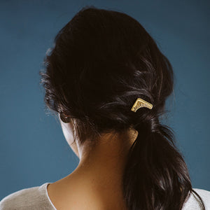 Arash Hair Pin - Isobell Designs - Accessories - handmade-jewelry-california-minimal-delicate-jewellery.