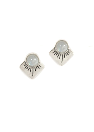 Marisol Stud Earrings ▬ Sterling Silver - Isobell Designs