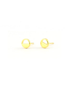 Díra Stud Earrings - Isobell Designs - Earrings - handmade-jewelry-california-minimal-delicate-jewellery.