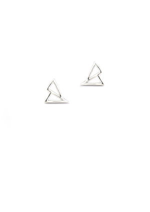 Cavo Triangle Studs | Gold