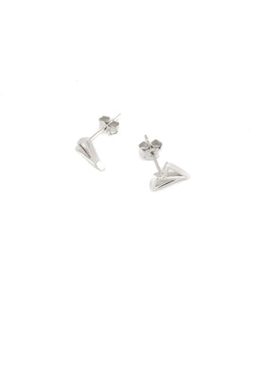 Cavo Triangle Stud Earrings - Isobell Designs