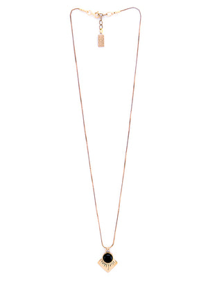 Marisol Necklace | Bronze