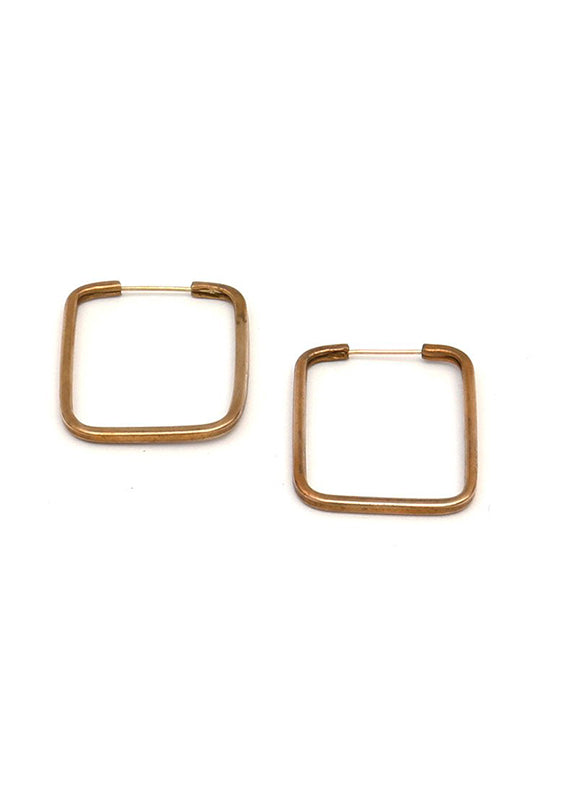 Rectangle Hoops - Isobell Designs