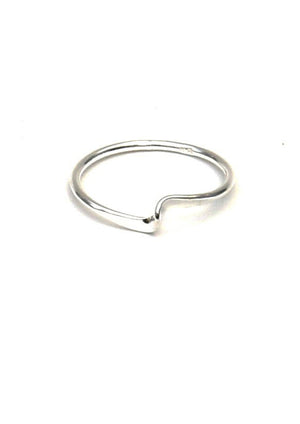 Mini Swell Stacking Ring - Isobell Designs