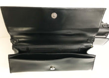 Load image into Gallery viewer, Jeannie Lottie Black long lean evening bag