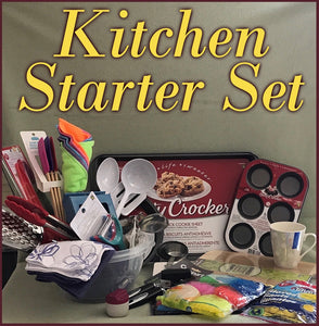 Sponsor a Kitchen Starter Set for a Woman in a Shelter
