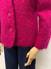 Load image into Gallery viewer, Magenta Mohair Jacket
