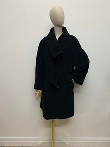 Windsmoor Black Shawl Collar Coat