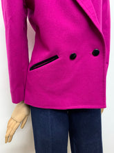 Load image into Gallery viewer, Windsmoor Pink Velvet Trimmed Jacket