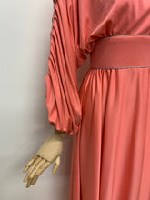 Load image into Gallery viewer, After Six by Ronald Joyce Coral Maxi Dress