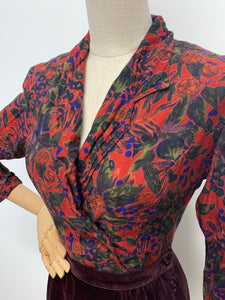 Monsoon Autumn Berries Blouse