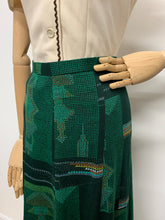 Load image into Gallery viewer, 1970s Geometric Maxi Skirt