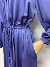 Load image into Gallery viewer, Hyacinth Blue Ruffle Dress
