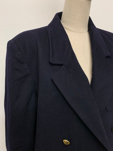 Jaeger Navy Double Breasted Blazer
