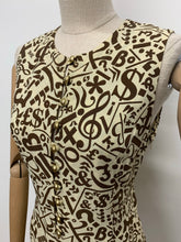 Load image into Gallery viewer, 1990s Moschino Cheap & Chic Symbol Dress
