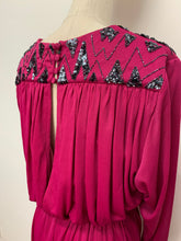 Load image into Gallery viewer, Peggy French Magenta Maxi Dress