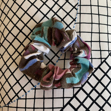 Load image into Gallery viewer, Vintage Fabric Scrunchie
