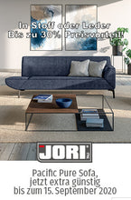 Laden Sie das Bild in den Galerie-Viewer, Jori Designsofa Funktionnssofa Sessel Pacific Pure JR-9700 Designmoebel Sauerland Möbel Zeppefneld Olpe Siegerland Siegen Oberberg Hagen Dortmund Köln Gummersbach interiodesign