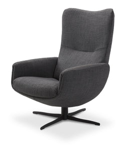 Jori Loungesessel Time-Out mit Hocker JR-4320, moderner Ohrensessel, Relaxsessel