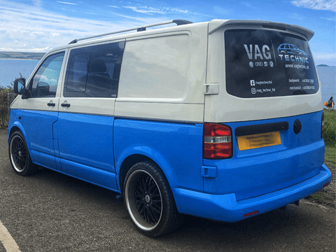 VAG Technic | Paintings / wrappings - Volkswagen Transporter T5 | Car services in Dudley