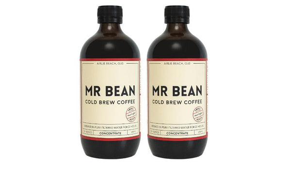 Mr Bean Cold Brew Coffee Concentrate 500ml