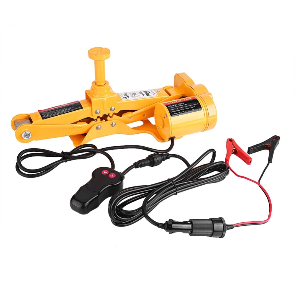 Electric Car Jack With Impact Wrench